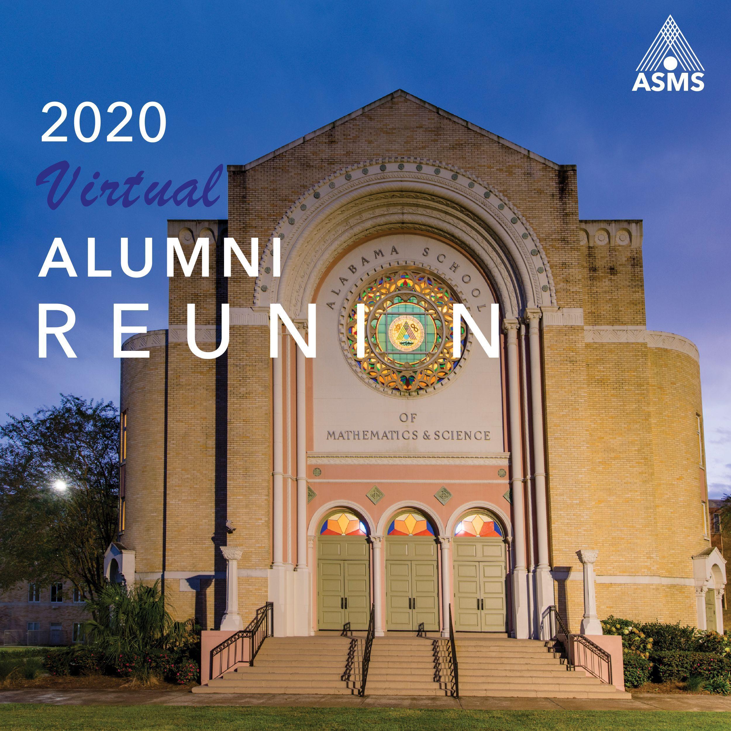 Alumni Virtual Reunion Graphic